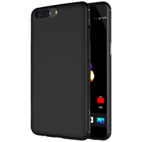 Oneplus 5 Case Nillkin Carbon Fiber Anti Fingerprint Wear Resistant Fitted Case Cover For One Plus
