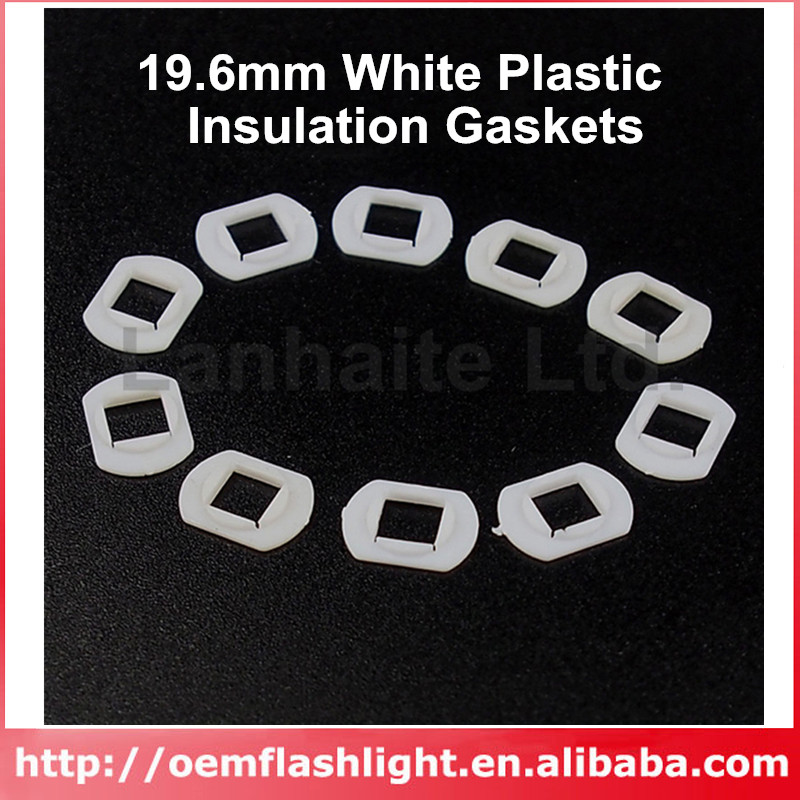 <font><b>5050</b></font> LED Gaskets for 7mm Reflector Hole 11mm(L) x 8.2mm(W) x 0.6mm(T) (<font><b>10</b></font> pcs) image