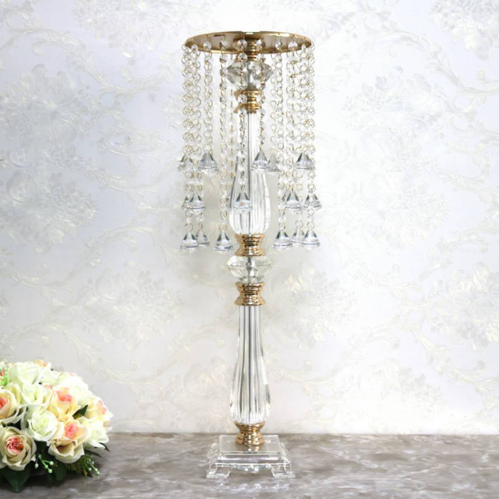 Wedding Gift Table Ideas: Wedding Decoration Table Centerpiece 70cm Tall Crystal