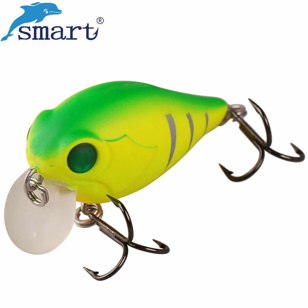 Inteligentny Crankbait przynęty 4 cm 4.2g pływające 0.2 m twarde przynęty VMC zestaw haczyków Isca sztuczne Pesca louis vuitton dla carp Fishing