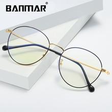 BANMAR анти-голубые легкие очки мужские очки для чтения Ray защитные очки игровые Компьютерные очки для женщин оправы из сплавов 1911