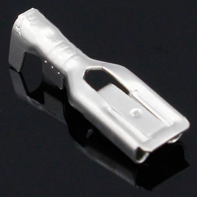 4.8mm Crimp Terminal 50pcs Female Spade Connector with 50pcs case