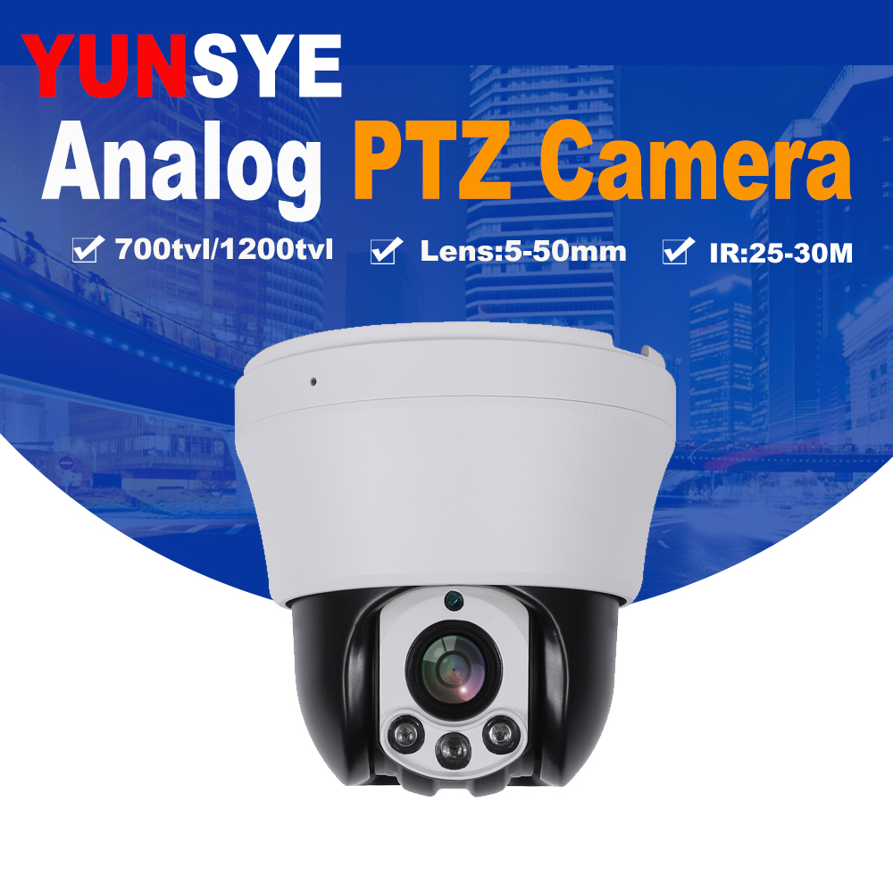 Free shipping 100X ZOOM 1/3 Sony CCD 700TVL High Speed Dome PTZ 3.5 Camera CCTV Picture speed dome camera cctv IR mini camera metal dome cctv camera 1 3 sony ccd 700tvl varifocal 3 5 8mm indoor ceiling installation cbdz