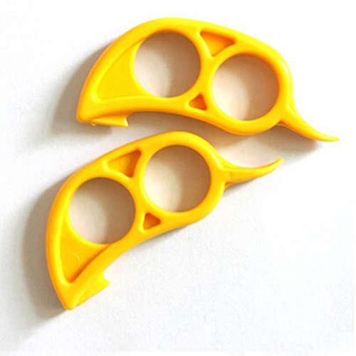 Lovely Lemon Citrus Orange Fruit Peeler Slicer Skin Remover Cutter Opener