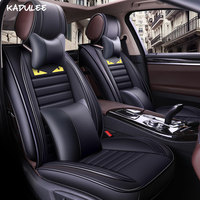 KADULEE auto car seat covers for mercedes w163 w202 w210 mazda cx 7 renault scenic 3 mg3 polo 9n car seat protector car styling
