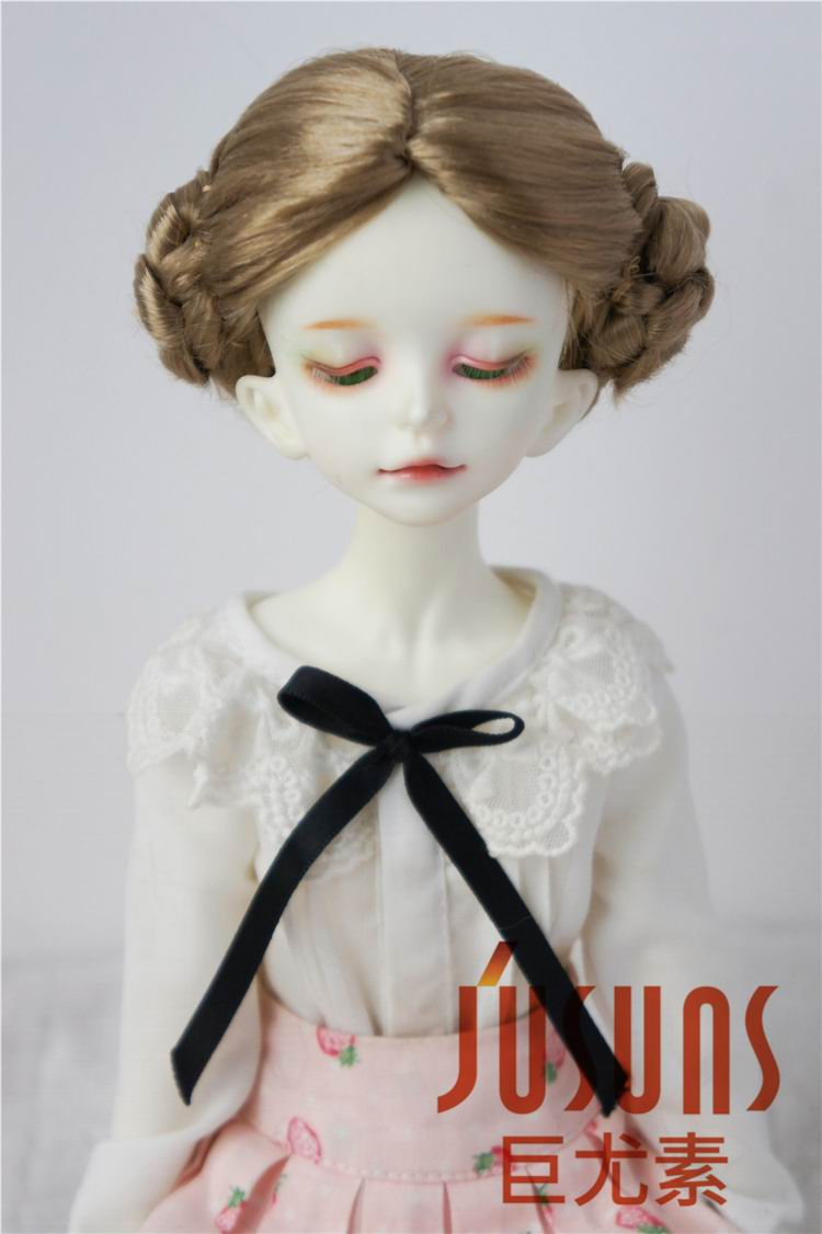 JD102 MSD doll wigs 7-8inch Lovely Ballerina Wigs Lati Blue synthetic mohair BJD wig Porcelain doll accessories 8 9 bjd wig silver knights of england volume mohair wig spot