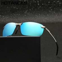 HDTANCEN Men's Polarized Sunglasses Aluminum Magnesium Frame Car Driving Sun Gla