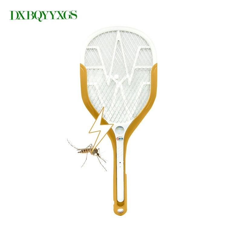 LED lumières Cellulaire Main Raquette Tapette Électrique Jardin Pest Control Insectes Bug Zappers Chauve-Souris Guêpe Fly Moustique Tueur USB De Charge
