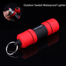 ФОТО free shipping turbo torch lighter portable outdoor waterproof dumbbell survival tool jet butane windproof pipe gas lighter 1300c