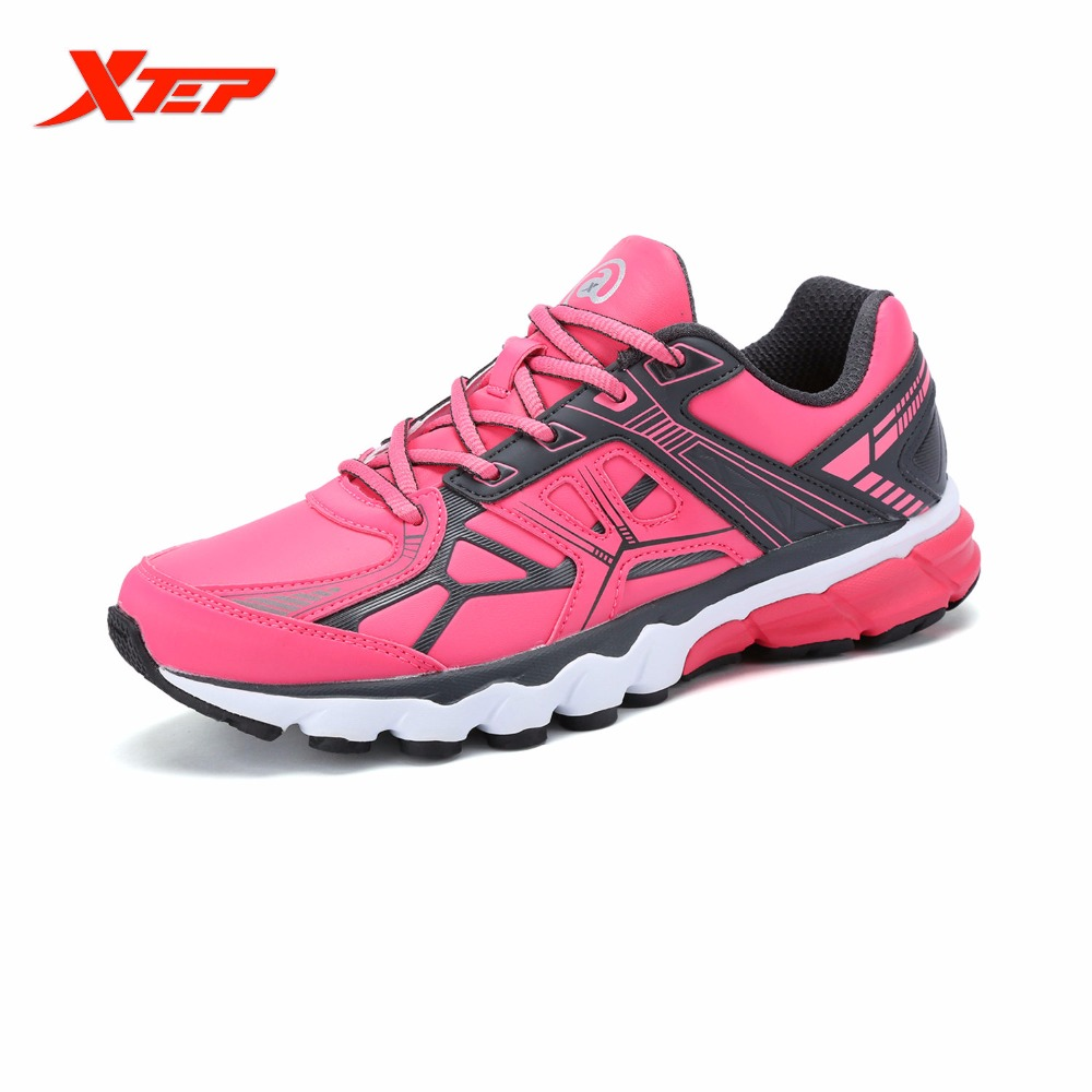 XTEP Brand Profession Light Running Shoes for Women Damping Athletic Sneakers Sports Run Shoes Trainers Men's Shoes 984418119255