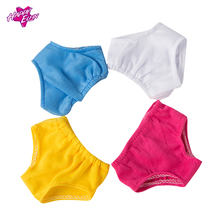 2 pcs Doll Clothes 4color small underpants Baby Born underwear 18 inch doll accessories American Girl Doll Clothes