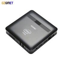 GZGMET Windows 10 adet Intel Z8350 Quad Core 2G RAM ev Taşınabilir küçük boyutlu Cep Masaüstü medya Bilgisayar Mini PC