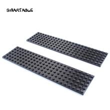 Smartable Grundplatte 6x24 Bausteine MOC Teile DIY Kreative Spielwaren Für Kinder Kompatibel 3026 Stadt Platte Spielzeug set 15 teile/los