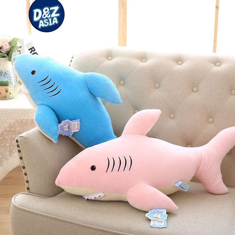 c1fdca1d02c9 Good 37  95cm Creative Cartoon Shark Toy Soft Pillow cute White Shark Toy  Plush Doll Sleeping Pillow sofa Birthday Gift offers where can We purchase  37  ...