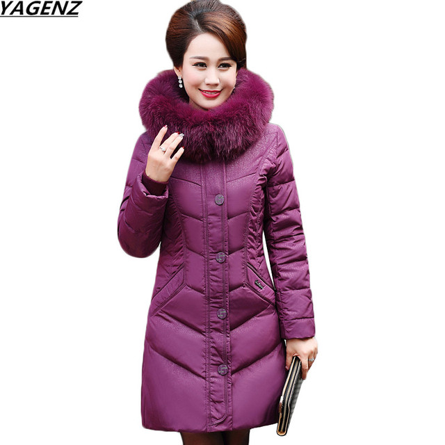 9421701bc3dd0 Winter Jacket Women parka New High Quality Down Cotton Jackets Coats Mother  Clothing Thick Warm Plus Size 5XL Female Basic Coat