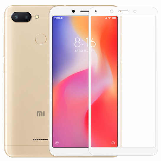 3D Full Cover Tempered Glass For Xiaomi Redmi Note 6 glass Redmi 6 6A X6 7 Pro Screen Protector