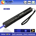 1000mw Hot Sale Burning Match 303 Laser Pointer Blue Laser Torch With Charger Metal Packing Suitcase Star +16340 Battery