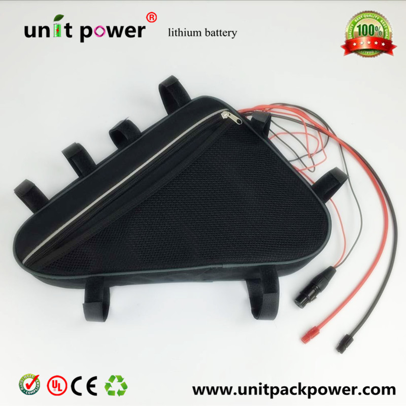 Free customs taxes Competitive factory directly selling electric bicycle triangle style 48v 12ah lithium ion battery free customs taxes factory super power rechargeable 36 volt power supply 36v 20ah li ion battery pack