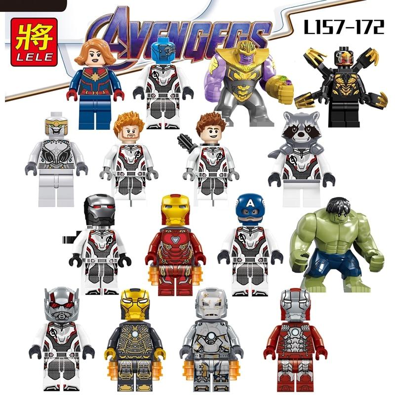 Marvel Legends Avengers Endgame Nighthawk Living Laser Hercules 6 Loose Action Figure