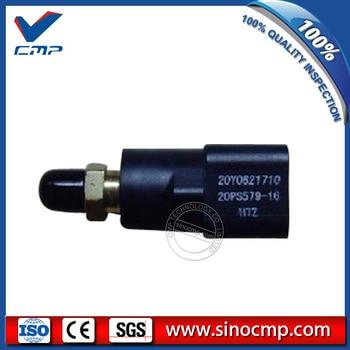 20Y-06-21710 20PS579-16H72 do koparek przełącznik ciśnienia dla Komatsu PC300-7 PC200-6 PC200LC-8 6D95