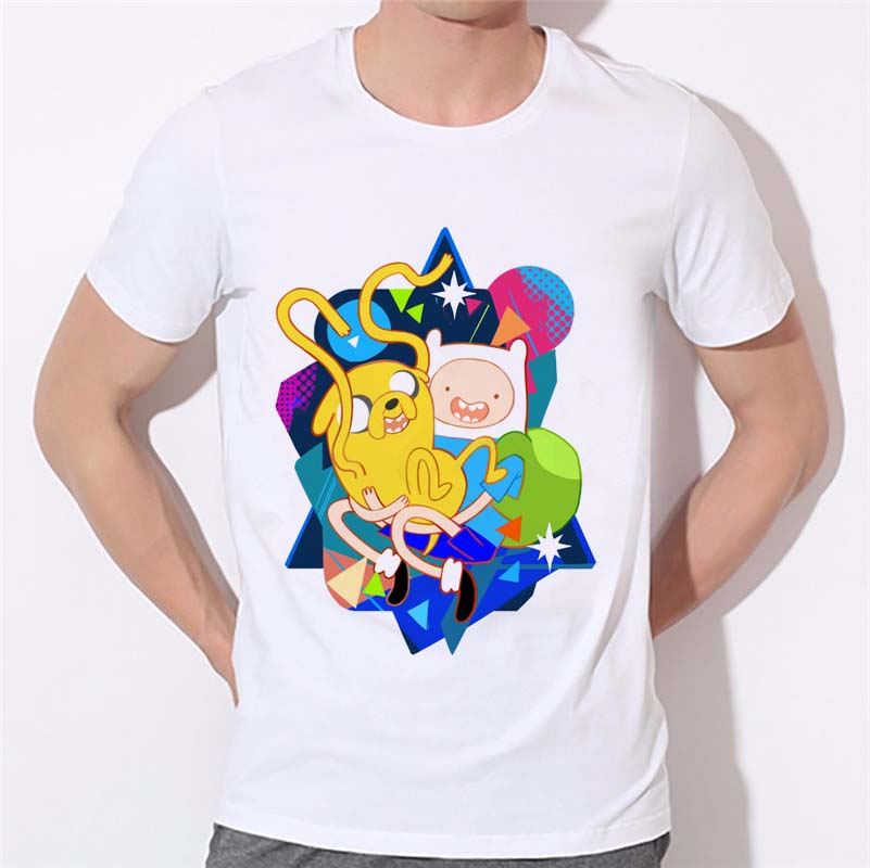 Adventure Time T Shirt Fin Jake Lumpy Space Princess The Ice King