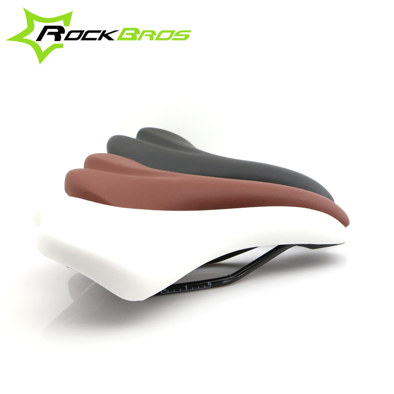 ROCKBROS Cycling Carbon Saddle Brown Leather Bicycle Saddle Mountain Road Bike Saddle Seat Bicycle Bike Parts Sillin Bicicleta megir b