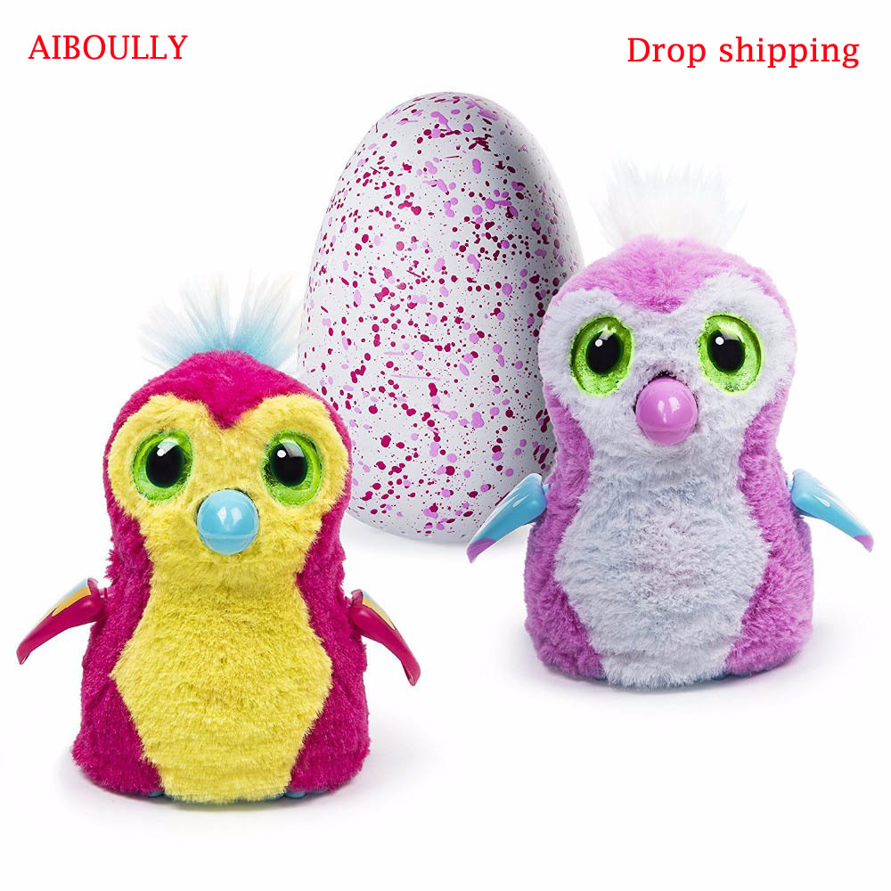 AIBOULLY In stock hatching egg toy Christmas Gift New Year gift Intelligent Toys Birds Interactive Hatch Egg