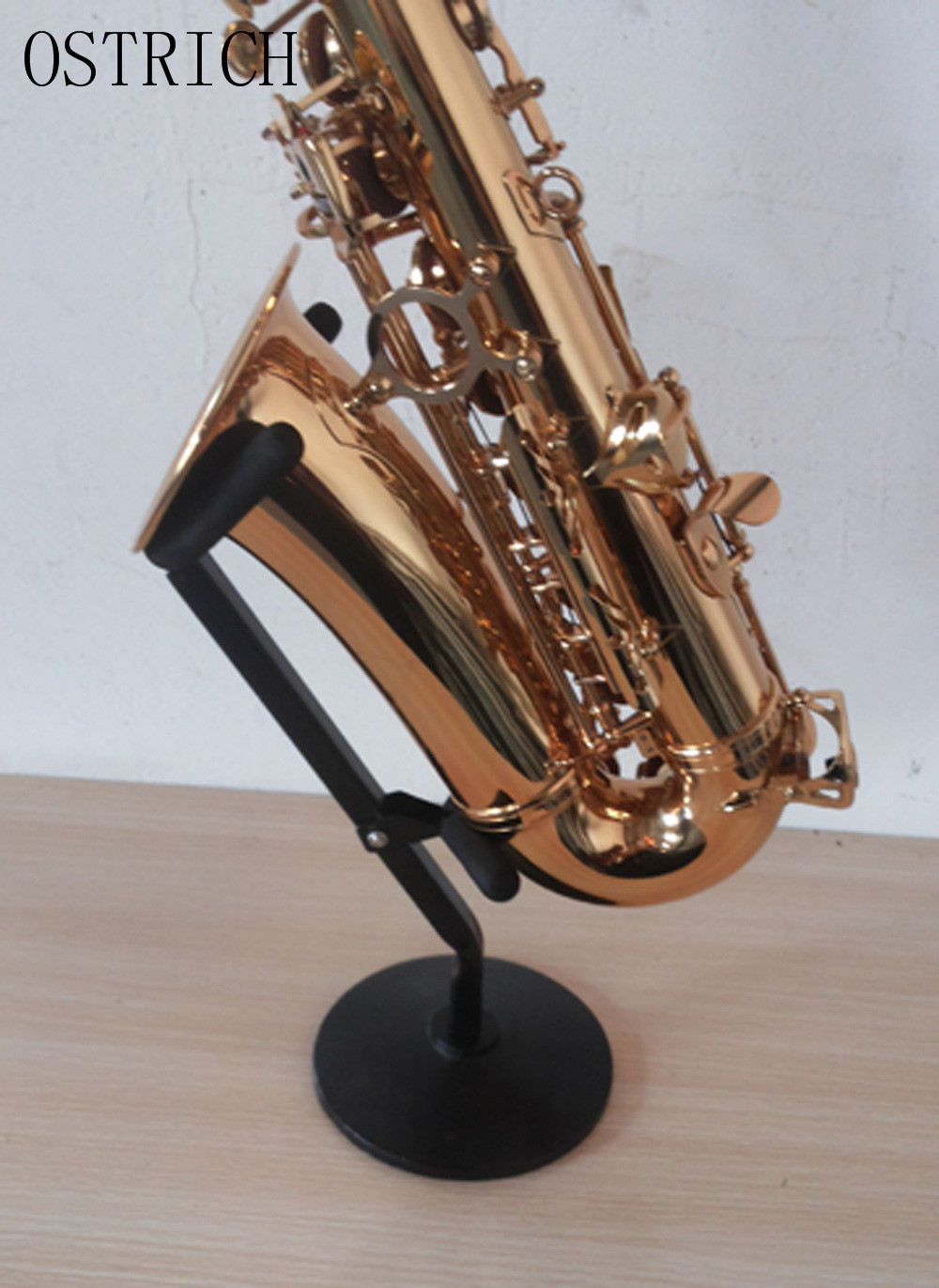 Wired Saxophone Alto Saxophone stand, Tenor Saxophone holder Black Carry Case - New Sax Stand free shipping new high quality tenor saxophone france r54 b flat black gold nickel professional musical instruments