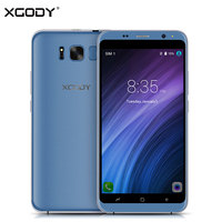 XGODY 3G Unlock Dual Sim Smart Phone Android 5.1 MTK6580 Quad Core 1 + 8 Smartphone 5.5 Pollice Touch Mobile Cellulare 2017 2200 mAh