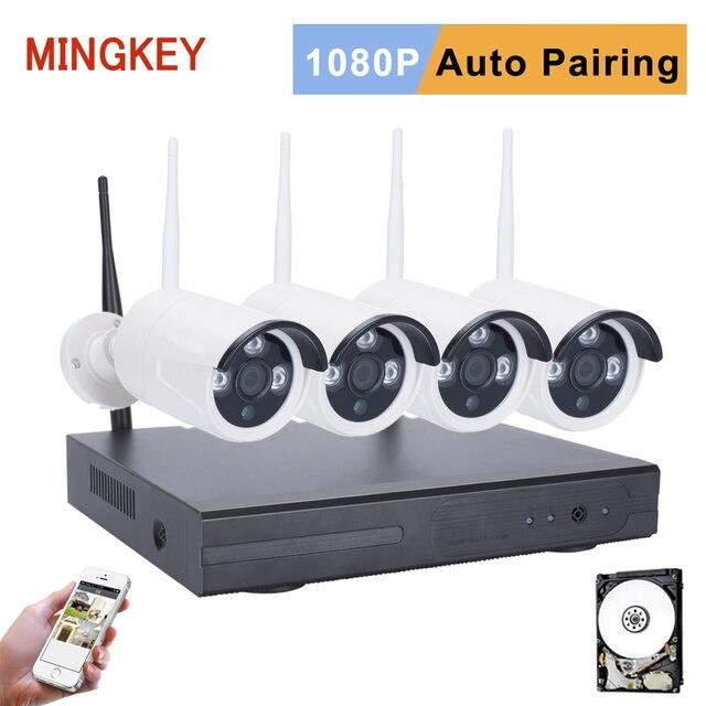 2.0MP Wifi CCTV Kit 1080P Wireless Security Camera System 3000TVL ...