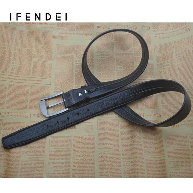 IFENDEI Designers Belt Men High Quality Luxury Leather Buckle Secret Pocket Hidden Belt Zipper Money Belt Security Travel Waist