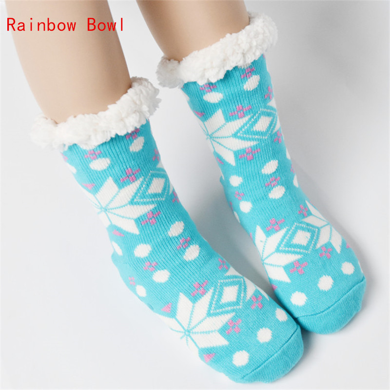 Rainbow Bowl Winter Home Unicorn Slippers Women Shoes Non-slip Floor Home Slippers Plush Soft Cotton Indoor Shoes Home  Shoes new winter soft plush cotton cute slippers shoes non slip floor indoor house home furry slippers women shoes for bedroom z131