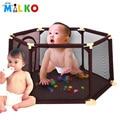 kids play toy tent  hexagon teepee baby playpen mesh indoor oudoor ocean ball pool infant tents for children safety  tipi