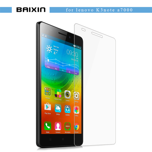 baixin Premium Tempered Glass For Lenovo K3 NOTE Screen Protector K3 note a7000 K50-T5 Anti-Explosion anti-Shatter Film