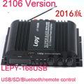 LP-168HA HiFi Digital Mini Audio  Amplifiers 40Wx2+68W 2.1 channel high power supper bass treble control TF Bluetooth home car