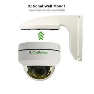 Image 4 - 5MP POE Mini PTZ IP Camera Dome H.265 Indoor 2.8 12mm 4X Optical Zoom IR 45M P2P CCTV Security Onvif Waterproof G.Craftsman