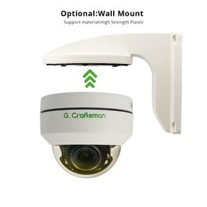 Image 4 - Telecamera IP POE Mini PTZ da 5mp Dome H.265 Indoor 2.8 12mm 4X Zoom ottico IR 45M P2P CCTV sicurezza Onvif impermeabile G. Artigiano