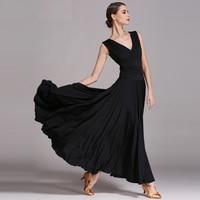 Fashion Ballroom Dance Competition Dresses Waltz Performance Dress Clothing Long Skirts Women Modern Costumes For Dances DWY665