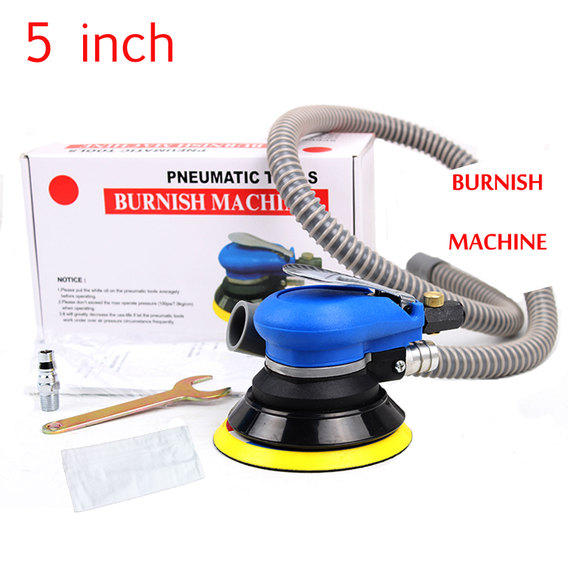 5 inch self-vacuum pneumatic sander pneumatic polishing machine air Eccentric orbital sander tool pneumatic car polisher industrial grade quality 2 inch 3 inch air eccentric sander pneumatic eccentric sander 50mm 75mm polishing grinder page 5