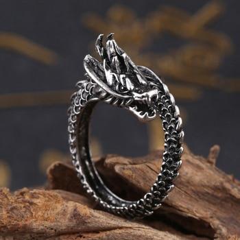 Bague dragon femme