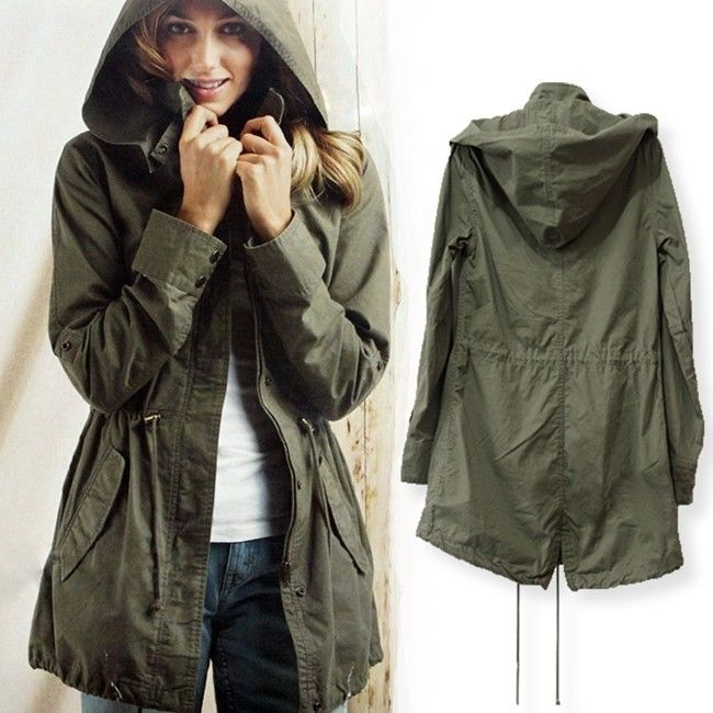 Womens Hooded Parka Jacket | Jackets Review