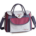 Bag For Baby Strollers Diaper/Nappy Mummy Travel Care bag Dot Maternity Expectant Pregnant Bag Women Messenger Shoulder Ladies