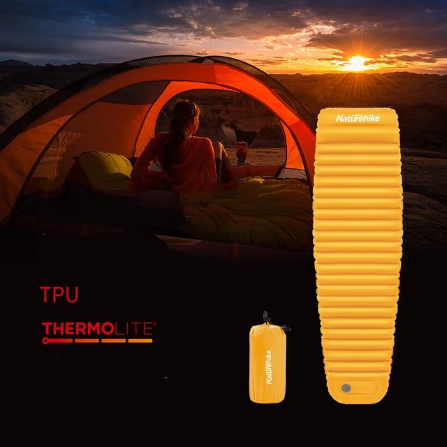 Naturehike Winter Sleeping Pad Ultralight Inflatable air Mattress 1