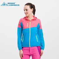 Woman Outdoor Spring Summer Sport Thin Jacket Windbreaker New Sun Protection Lightweight Quick Dry Hiking Jackets