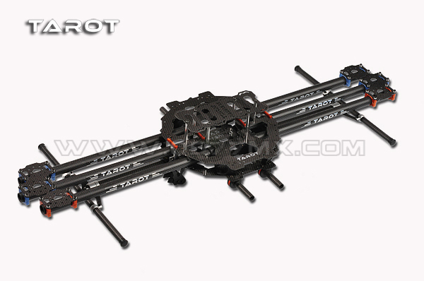 TAROT FY680 six-axle vehicle rack pure carbon tube version TL68B01 Six axis aerial machine ультрафиолетовая лампа philips tl d18 08 60cm tube t8