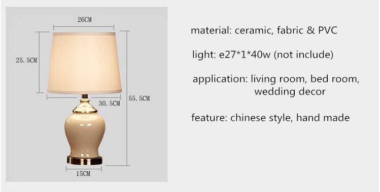 100% Quality Wooden Base Table Lamp Desk Lights Study Lighting Eye Protection Us Plug E27 40w New Year Decoration To Adopt Advanced Technology Lights & Lighting