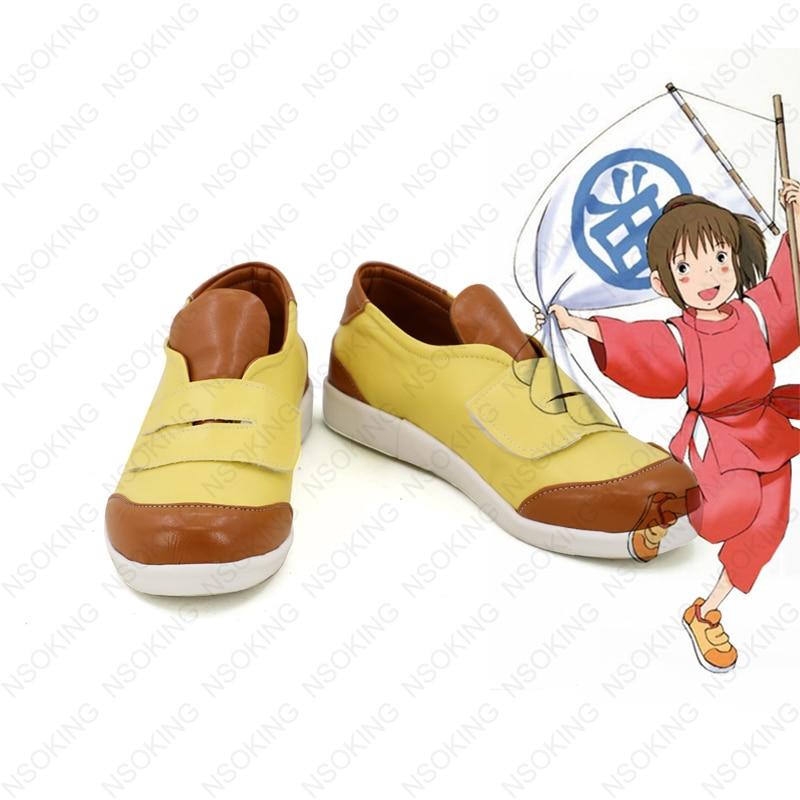 Nouveau esprit loin ogino chihiro Cosplay bottes Anime chaussures sur mesure