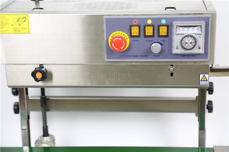 FR-770 függőleges BateRpak folyamatos szalagú tömítő, - Hegesztő felszerelések - Fénykép 3