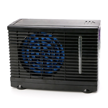 New Adjustable 12V Car Air Conditioner Cooler Cooling Fan Water Ice Evaporative