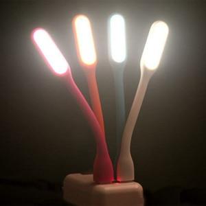 Image 5 - 200 ピース/ロットミニ柔軟な USB Led ナイトライトテーブルランプ読書ブックライト Usb ハンドランプ電源銀行ラップトップノートブック夜の光